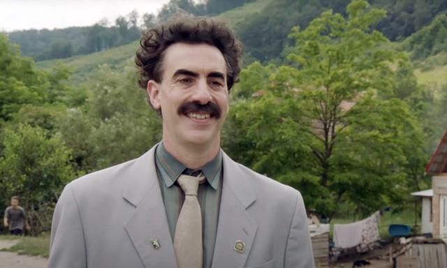 Borat 2 Sacha Baron Cohen golden globes nominees