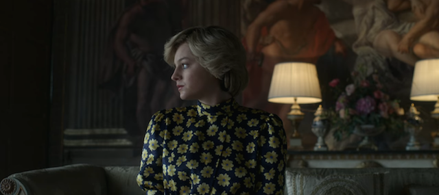 Emma Corrin as Princess Diana / Credit: Netflix
