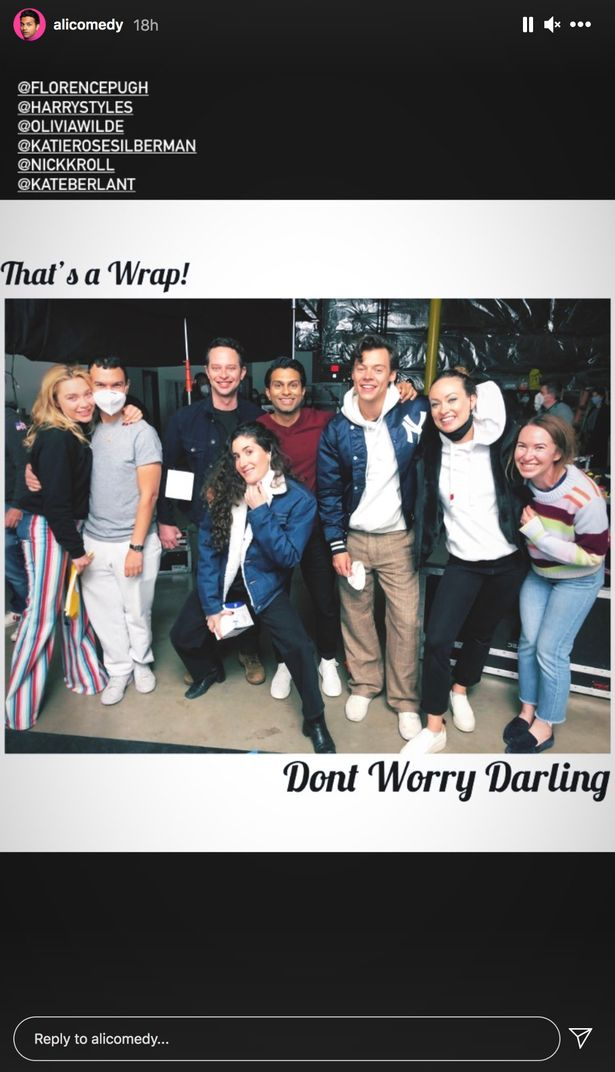 Don't worry Darling wrap
